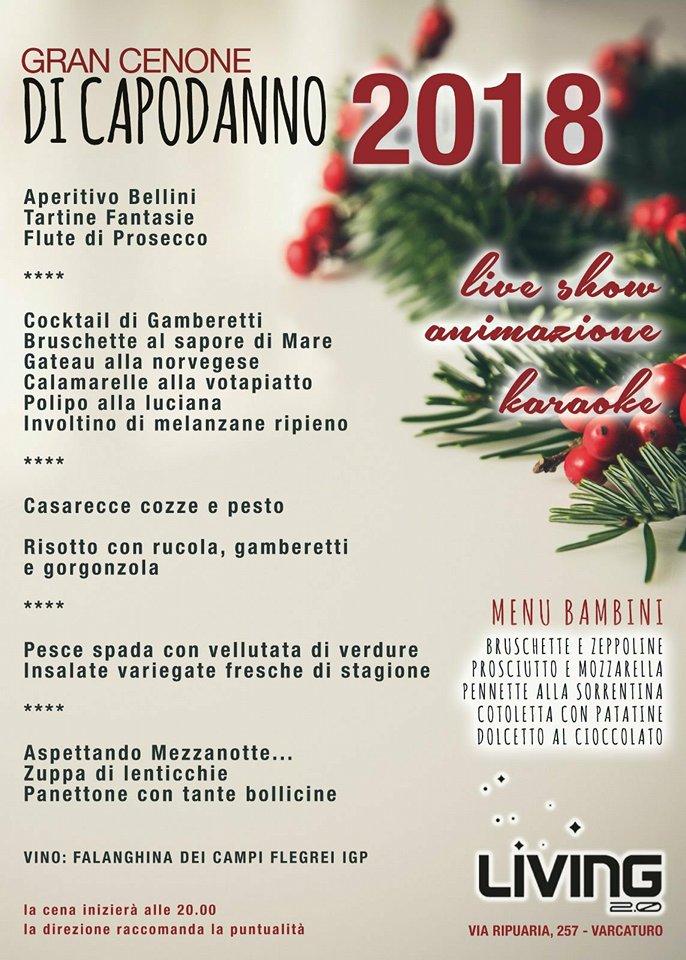 Cenone E Veglione Di Capodanno 2018 Al Living Di Varcaturo