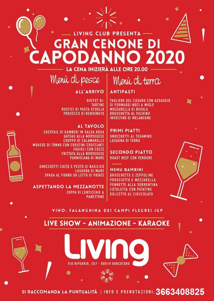 Capodanno 2020 Al Living Di Varcaturo Il Cenone